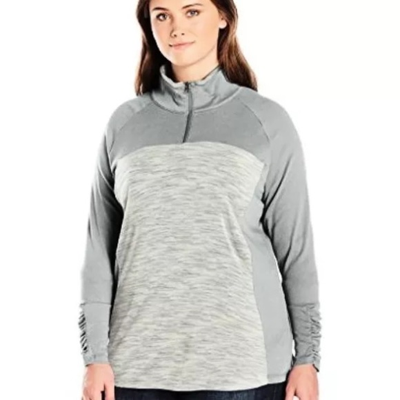 8ebfefaa7a4a0 Columbia women s half zip outer spaced II Plus 2X